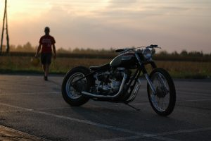 northeast_custom_triumph_T160_chopper